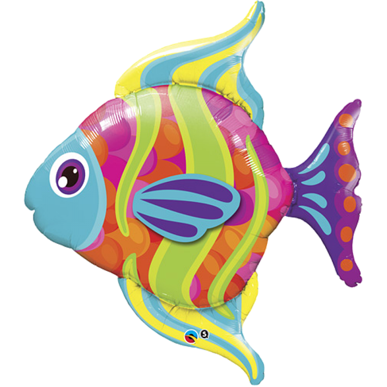 fisch zeichnung bunt