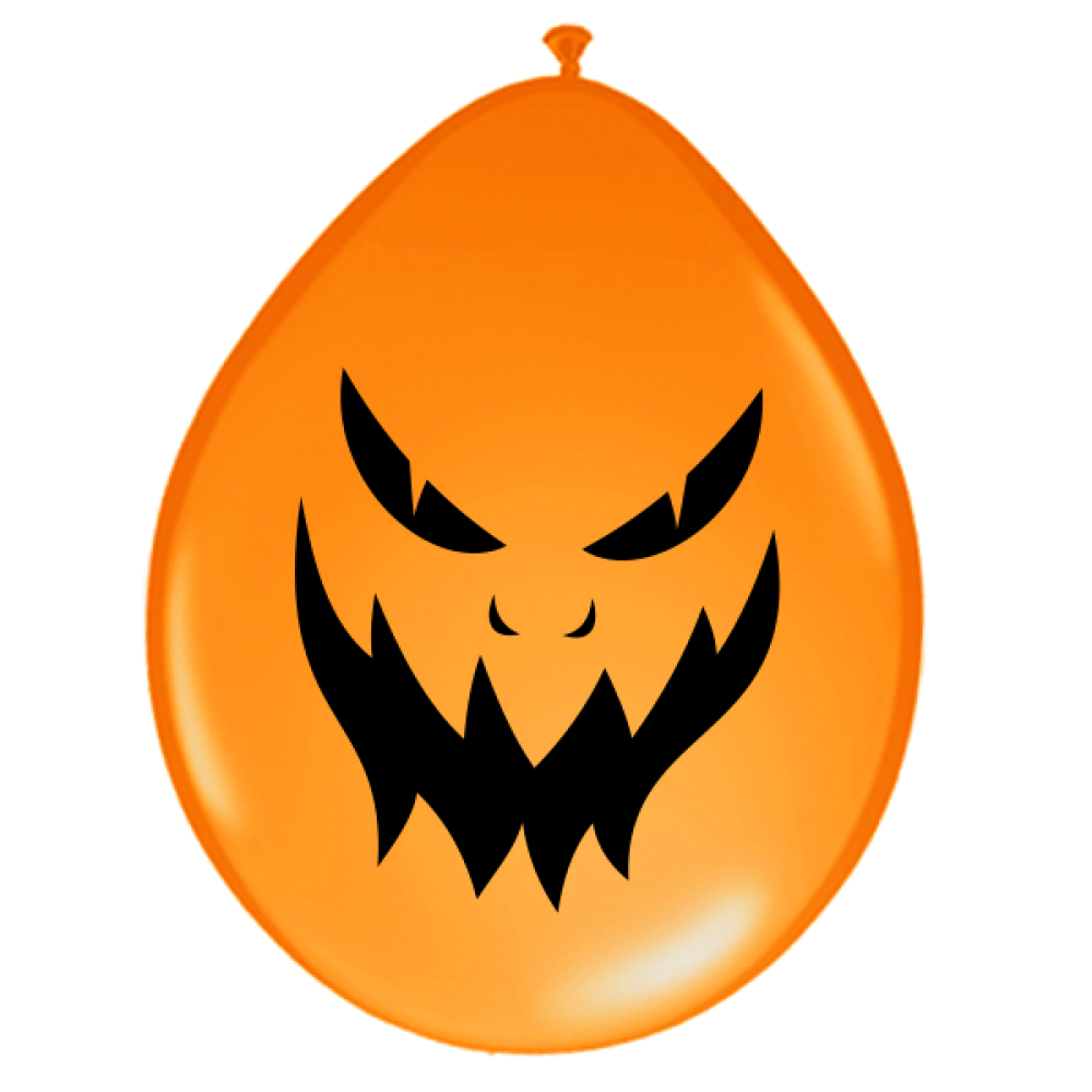 luftballons halloween b ses gesicht orange 30 cm. Black Bedroom Furniture Sets. Home Design Ideas