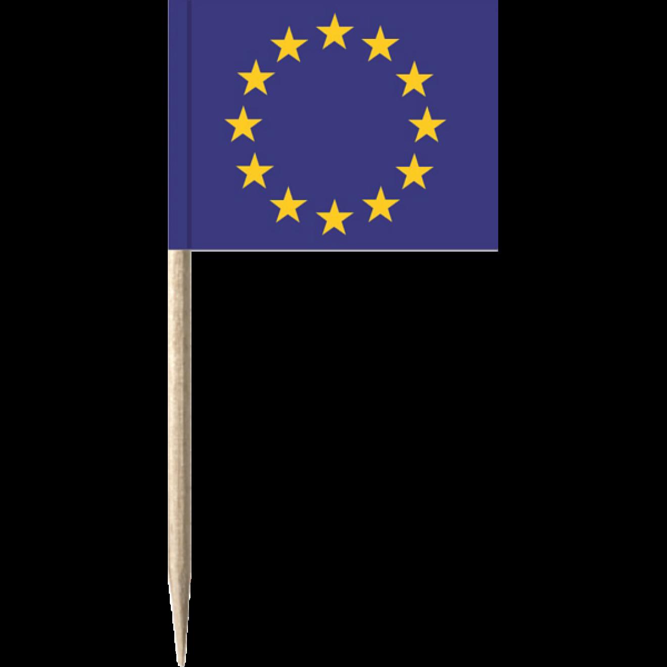 50 x FlaggenpickerKäsepickerMinifahnen England