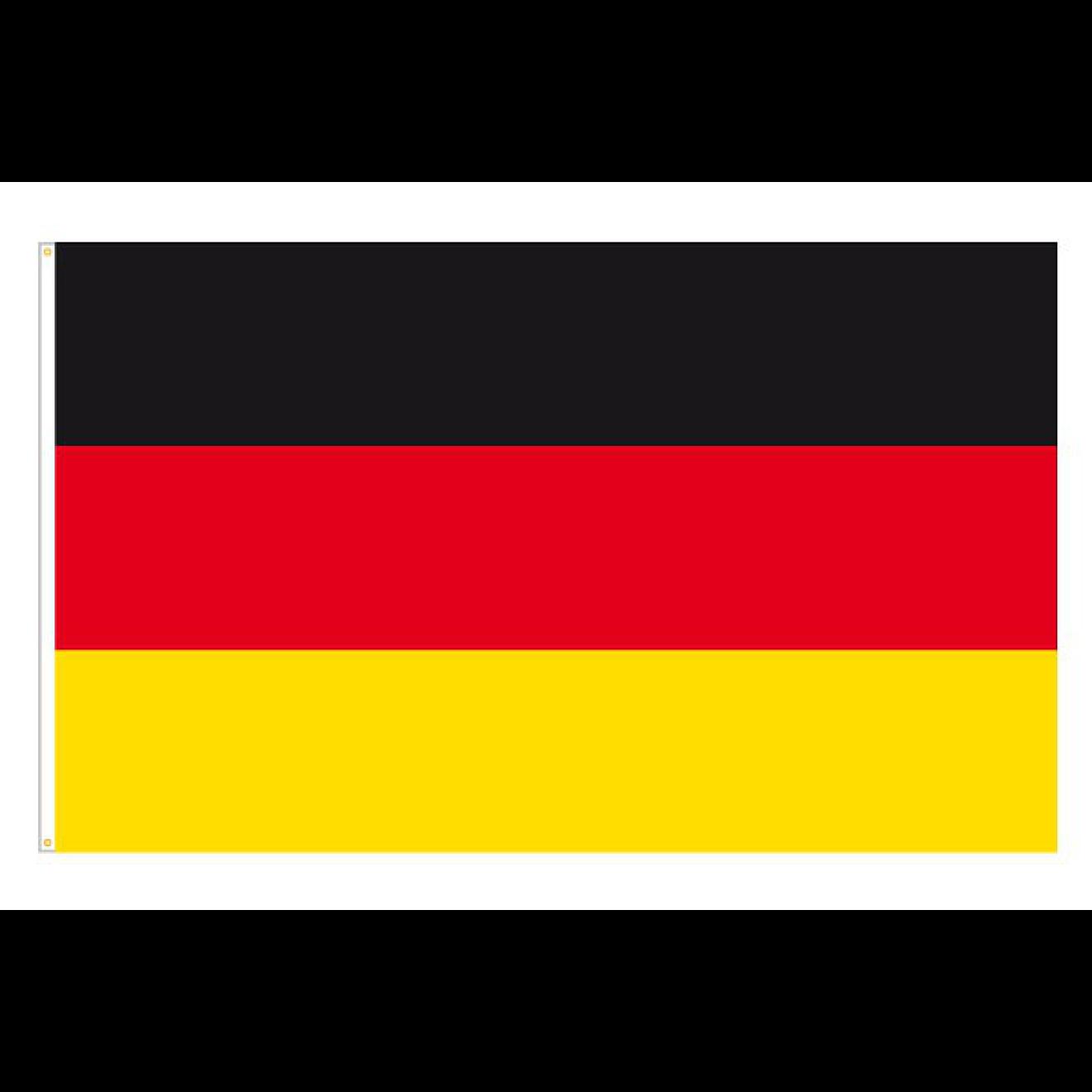Fahne Deutschland 150 cm x 90 cm