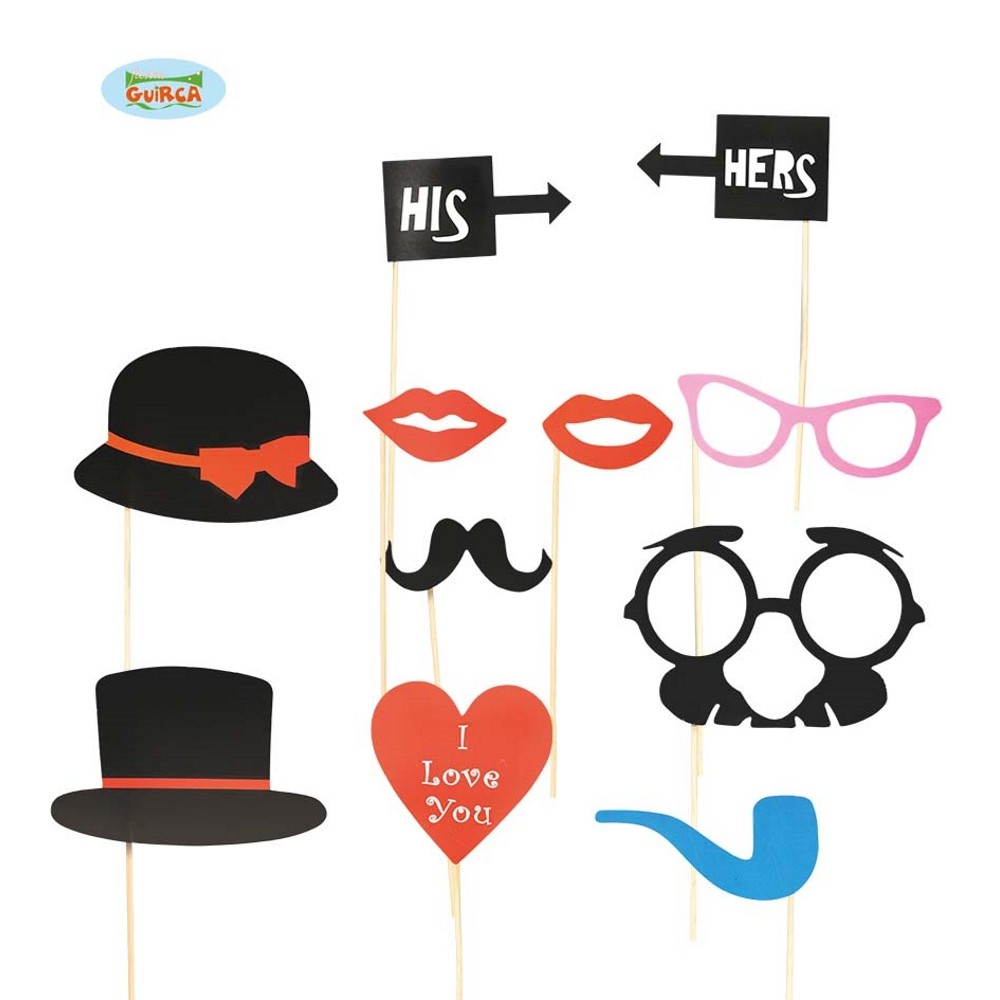 photo booth hochzeit foto accessoires f r party fotobox. Black Bedroom Furniture Sets. Home Design Ideas