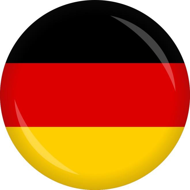 Button » Deutschland Flagge Ø 50 mm | Luftballon.de