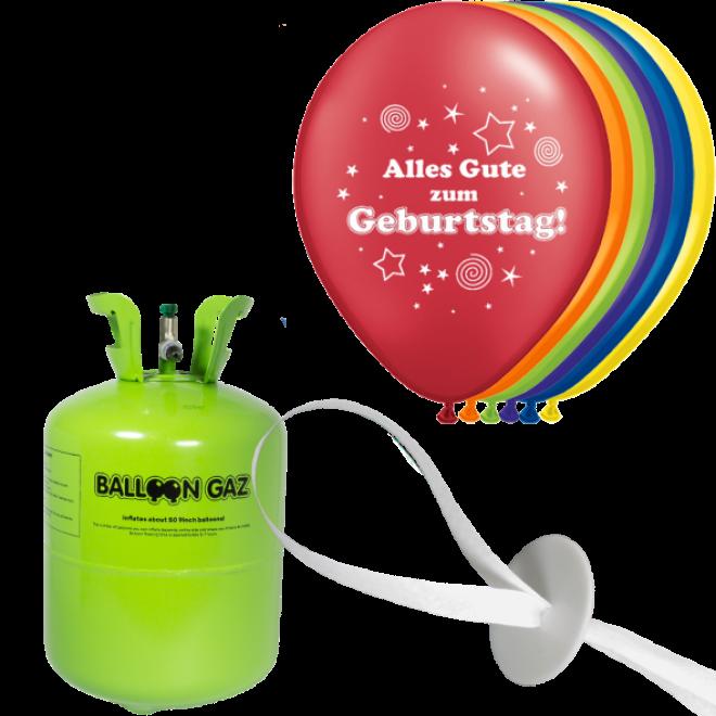 helium set luftballons geburtstag alles gute zum geburtstag. Black Bedroom Furniture Sets. Home Design Ideas