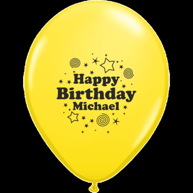 Luftballons Bedrucken Geburtstag Happy Birthday