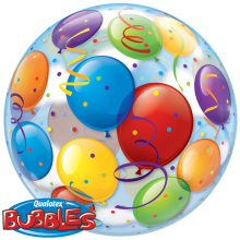 Bubble Ballon Luftballons Ø 56 cm - Qualatex -