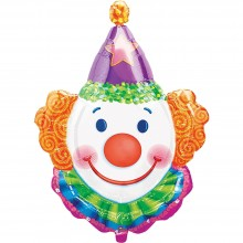 Folienballon Clown 83 cm