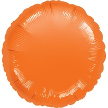 Folienballon Rund - Orange Ø 45 cm - Anagram -