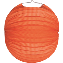 Lampion Orange Ø 24 cm