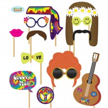Photo Booth Hippie Party Foto Accessoires für Party Fotobox