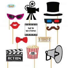 Photo Booth Film & TV Party Foto Accessoires für Party Fotobox