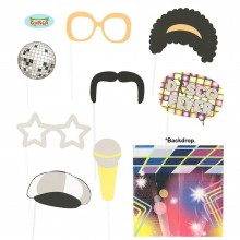Photo Booth Disco Party Foto Accessoires für Party Fotobox